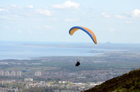 Paraglider at Hillend