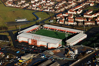 Excelsior Stadium from the Air