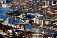 Glasgow Centre from the Air
