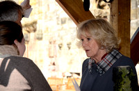 Duchess of Rothesay opening Rosslyn Chapel Visitors Centre