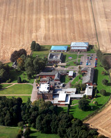 Kilgraston School from the air